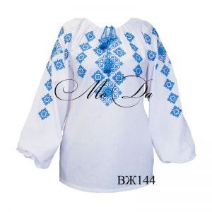 Женские вышиванки Рубашка с вышивкой крестиком ВЖ144