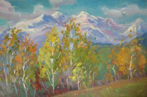 Картини маслом Карпатська осінь