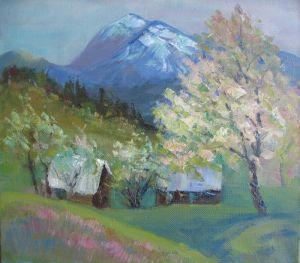 Мальовані картини Весняний Петрос