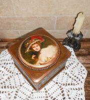 Винтажная шкатулочка для украшений
