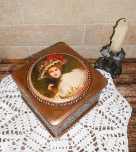 Деревянные шкатулки ручной работы Винтажная шкатулочка для украшений