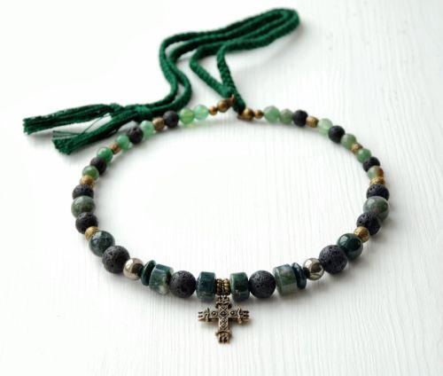 """Ожерелье и браслет """"Лесная нимфа"""""""
