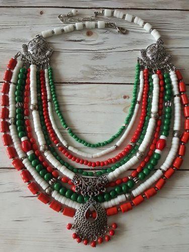 Ожерелье Вышиванка
