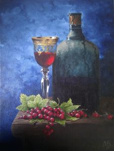 Wine and currants