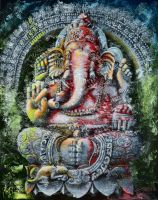 Ganesha. Ritual