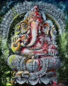 Великий Николай Ganesha. Ritual