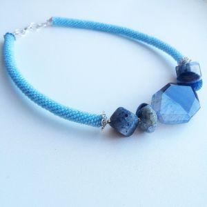 Ожерелье из бисера Нежность