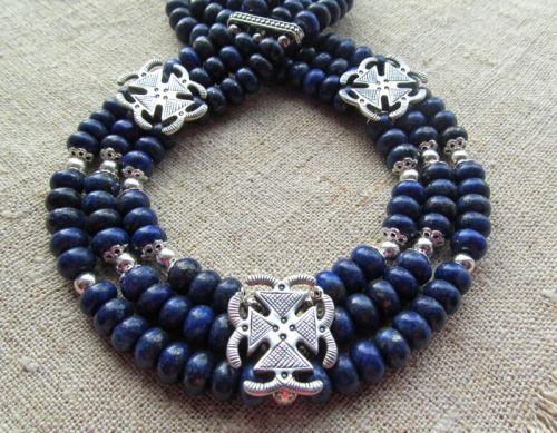 Ожерелье «Василек»