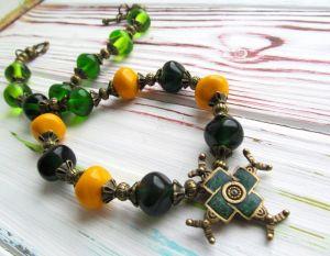 Ожерелья и колье ручной работы Колье