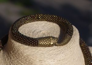 Браслет Snake (бронза)