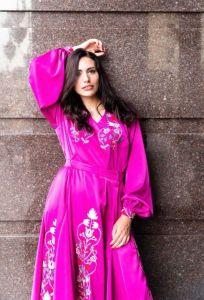 Вышитые платья Вишита сукня - малиновий рай