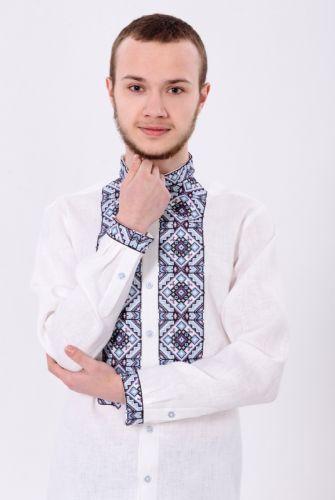 Купити Класична модель чоловічої вишитої сорочки 3219 VYSP46 на ... 5b6b0f723a410