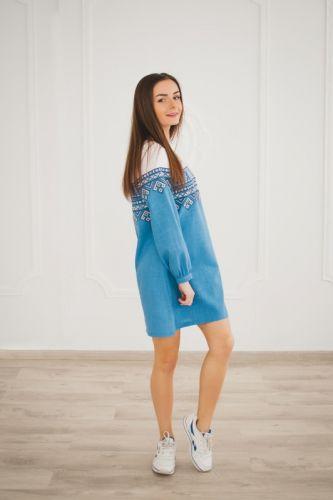 Купити Жіноча вишита сукня VYSP17 на UkrainArt 529c4bef2754b
