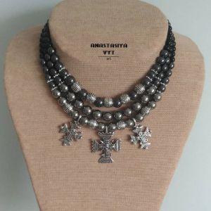 Вит Анастасия Ожерелье «Новгородское серебро»