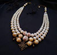 """Ожерелье из жемчуга """"Барочное"""""""