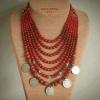 «Монисто» с серебряными монетами