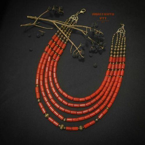 Ожерелье «Антикварные» - изображение 1