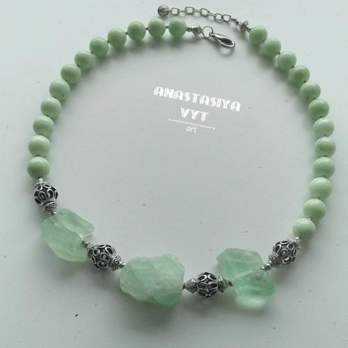 Ожерелье «Нежная мята»
