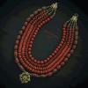 Кораллы из яшмы «Звездочка небесная»  яшма, сердолик, авторская Вит Анастасия - фото 3