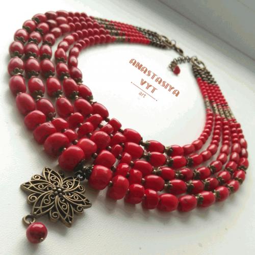 Ожерелье «Цветение»