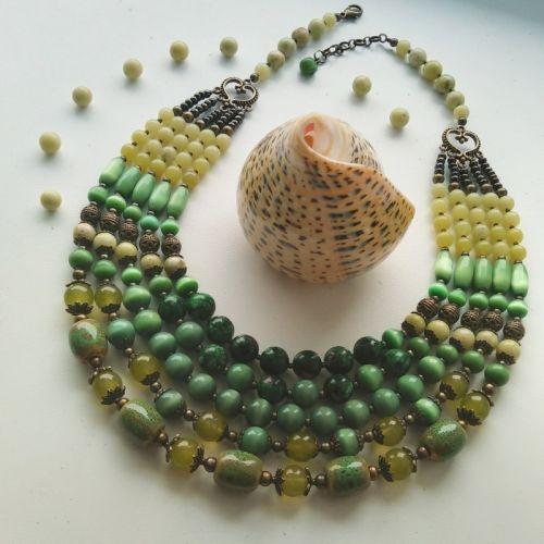 Намисто «Зеленорядне»