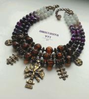 Ожерелье «Згарда фиолет»