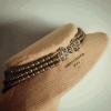 Зґарда «Празникова» Жовтий латунні хрестики і застіб Вит Анастасія - фото 5
