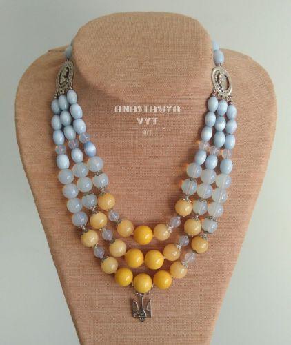 Ожерелье «Светлая украиночка»