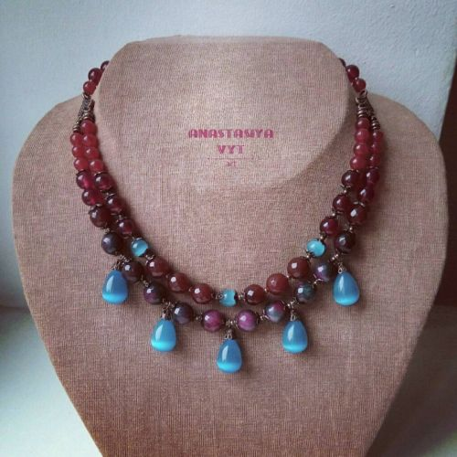 Ожерелье «Капли дождя»