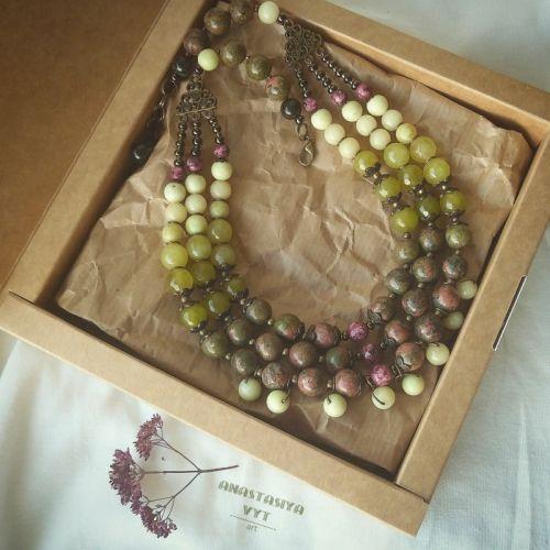 Ожерелье «Оттенки лета»