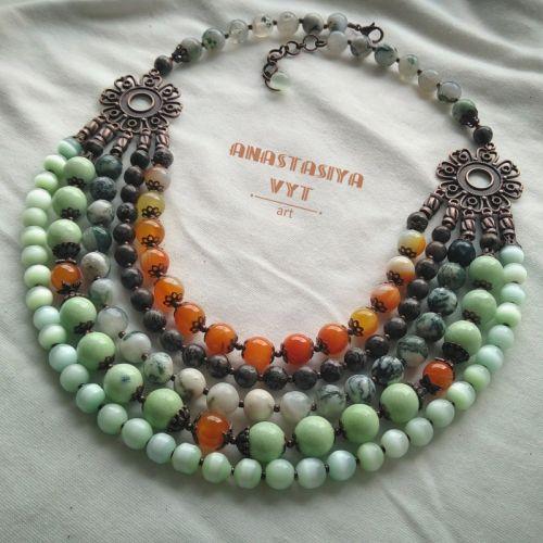 Ожерелье «Летняя свежесть»