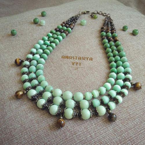 Ожерелье «Мятная роса»