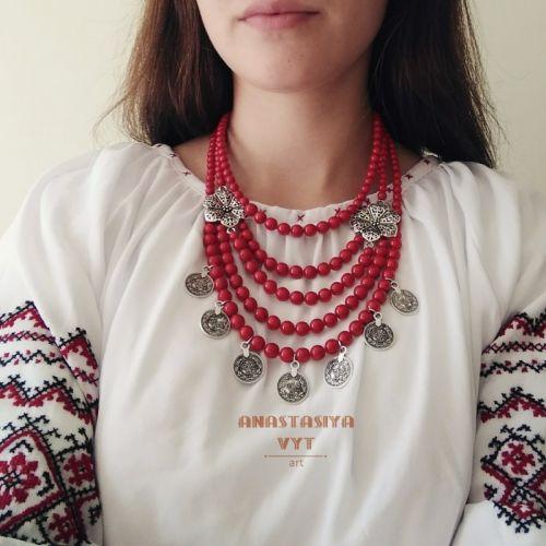 Ожерелье «Цветущее»