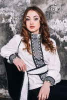 Блузка женская вышитое бисером