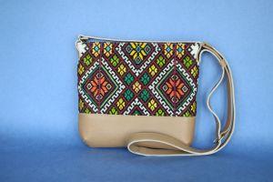 Сумки ручной работы Сумка с аутентичной вышивкой
