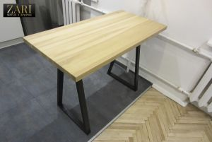 Меблі ручної роботи Стіл з ясена 120х60см. ZR603