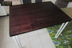 Меблі ручної роботи Стіл з ясена 110х80см. ZR615