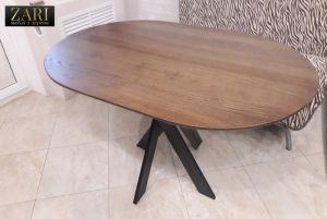 Меблі ручної роботи Стіл з ясена 120х80см. ZR621