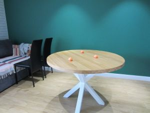 Меблі ручної роботи Стіл круглий ZR588