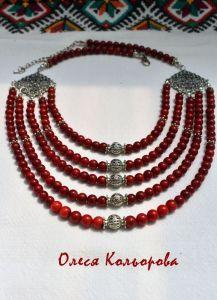 Ожерелья и колье ручной работы Праздничное