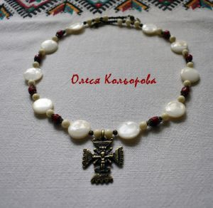 Ожерелье из коралла Ожерелье-Згарда