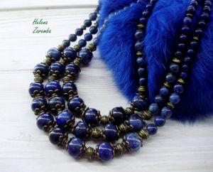 """Ожерелье из лазурита Ожерелье """"Синяя птица"""""""
