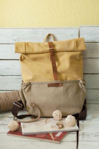 Рюкзак Roll Top Veggie Zipper (желтый) - изображение 1