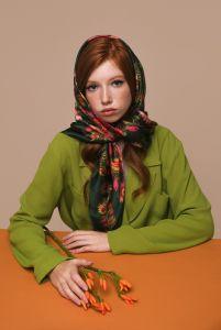 Модная женская одежда Платок «Лесная песня»