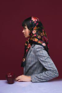 Модная женская одежда Платок «Черное золото»