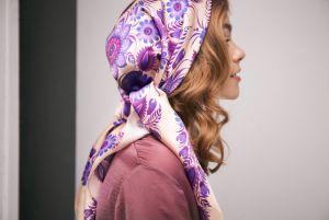 Модная женская одежда Платок «Сирень»