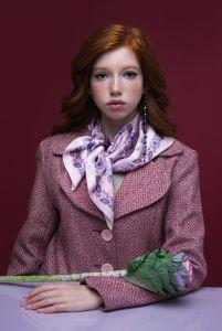 Модная женская одежда Платок «Первая любовь»