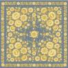 Платок «Лимонный сад»