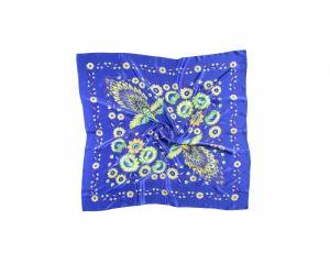 Kerchiefs and Shawls Синя хустка «Чарівні жар-птиці»