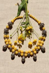 Зелені пацьорки Одуванчик